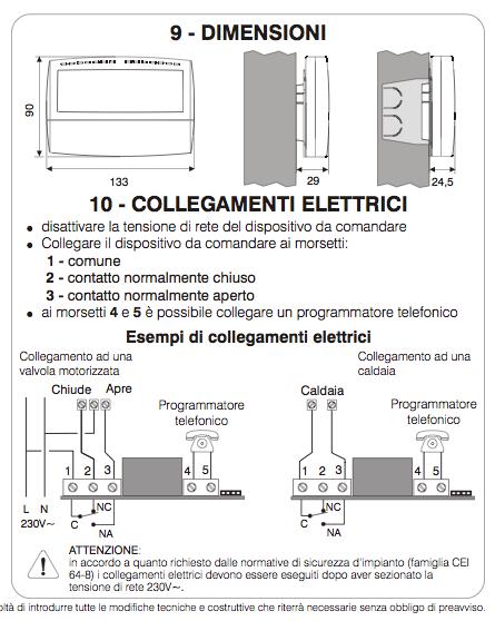 Schema Collegamento Orologio Perry : Installazione nuovo termostato off topics discussions on